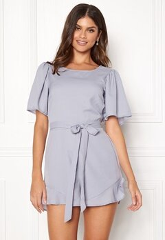 BUBBLEROOM Marbella playsuit Light blue Bubbleroom.no