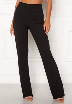 BUBBLEROOM Marianna comfy suit trousers Black Bubbleroom.no