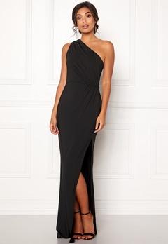 BUBBLEROOM Marianna one shoulder gown Black Bubbleroom.no