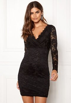 BUBBLEROOM Martha lace dress Black Bubbleroom.no