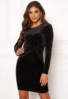BUBBLEROOM Mila sparkling dress Black / Silver Bubbleroom.no