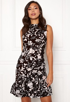 BUBBLEROOM Minelle dress Black / Patterned Bubbleroom.no