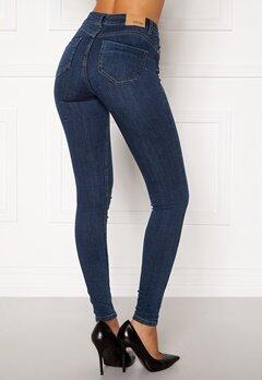 BUBBLEROOM Miranda Push-up jeans Medium blue Bubbleroom.no