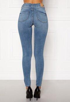BUBBLEROOM Miranda Push-up jeans Light blue Bubbleroom.no