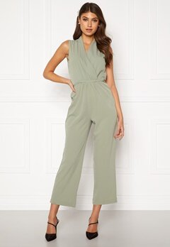 BUBBLEROOM Mirja jumpsuit Dusty green Bubbleroom.no