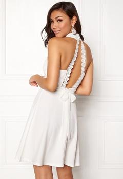 BUBBLEROOM Moa dress White Bubbleroom.no