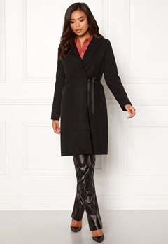BUBBLEROOM Molly classic coat Black Bubbleroom.no