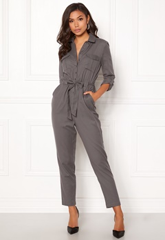 BUBBLEROOM Molly jumpsuit Dark grey Bubbleroom.no