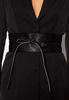 BUBBLEROOM Molly tie belt Black Bubbleroom.no