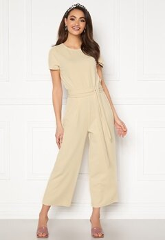 BUBBLEROOM Morah jumpsuit Light beige Bubbleroom.no