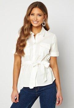 BUBBLEROOM Mya shirt blouse Offwhite bubbleroom.no