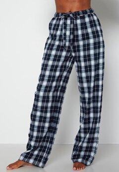 BUBBLEROOM Naya flannel pants Blue / White / Checked bubbleroom.no