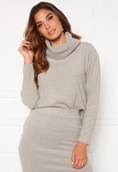 BUBBLEROOM Nelima knitted sweater Grey Bubbleroom.no