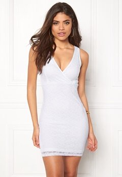 BUBBLEROOM Nicole lace dress White Bubbleroom.no