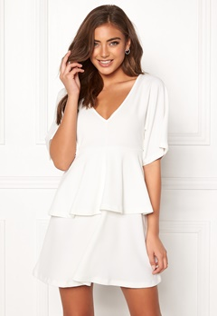 BUBBLEROOM Nicolette dress White Bubbleroom.no