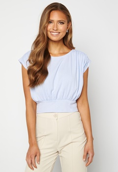 BUBBLEROOM Nicolina tie top Light blue Bubbleroom.no