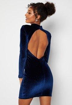 BUBBLEROOM Nicoline Sparkling Dress Blue bubbleroom.no