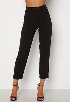 BUBBLEROOM Peyton soft suit trousers Black Bubbleroom.no