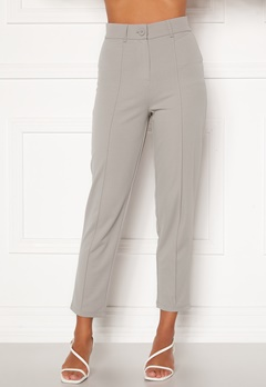 BUBBLEROOM Peyton soft suit trousers Grey Bubbleroom.no