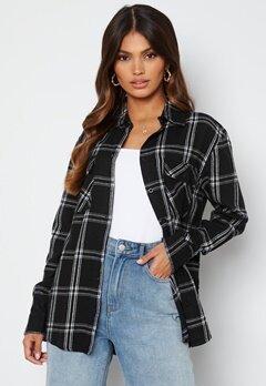 BUBBLEROOM Pie flannel shirt Black / White / Checked bubbleroom.no