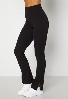 BUBBLEROOM Roselyn suit slit pants Black Bubbleroom.no