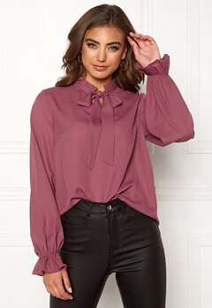 BUBBLEROOM Sage blouse Old rose Bubbleroom.no