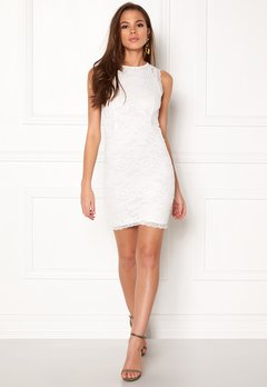 BUBBLEROOM Salma Lace Dress White Bubbleroom.no