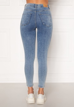 BUBBLEROOM Sandy highwaist superstretch Light denim Bubbleroom.no