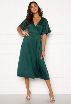 BUBBLEROOM Scala dress Dark green Bubbleroom.no