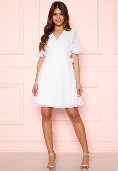 BUBBLEROOM Scarlette dotted dress White Bubbleroom.no