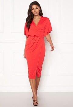 BUBBLEROOM Selena dress Coral red Bubbleroom.no