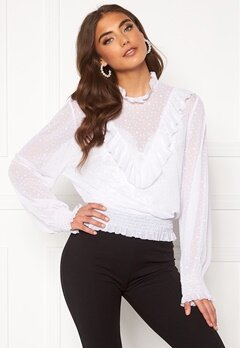 BUBBLEROOM Selin mesh top White Bubbleroom.no