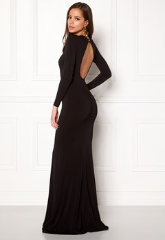 BUBBLEROOM Skye maxi dress Black Bubbleroom.no