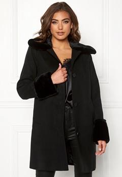 BUBBLEROOM Sophia coat Black Bubbleroom.no