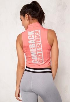 BUBBLEROOM SPORT Achieve sport top Peach Bubbleroom.no