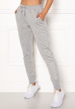 BUBBLEROOM SPORT Balance sweat pants Grey melange Bubbleroom.no
