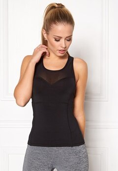 BUBBLEROOM SPORT Courage sport top Black Bubbleroom.no