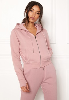 BUBBLEROOM SPORT Divine hoodie Dusty pink Bubbleroom.no
