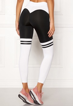 BUBBLEROOM SPORT Excite Sport Tights Black / White Bubbleroom.no