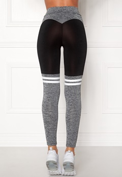 BUBBLEROOM SPORT Excite Sport Tights Black / Grey Bubbleroom.no