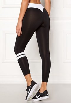 BUBBLEROOM SPORT Move it sport tights Black / White Bubbleroom.no