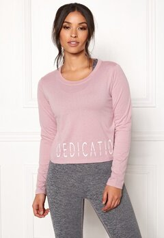 BUBBLEROOM SPORT The dedication sport top Dusty pink Bubbleroom.no