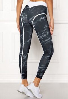 BUBBLEROOM SPORT Thrust sport tights Patterned Bubbleroom.no
