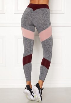 BUBBLEROOM SPORT Winners sport tights Dark grey melange Bubbleroom.no