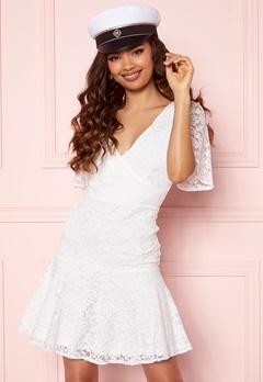 BUBBLEROOM Starla Lace Dress White Bubbleroom.no
