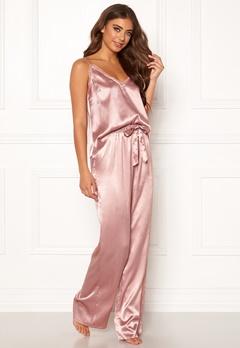 BUBBLEROOM Stephanie pyjama pants Dusty pink Bubbleroom.no