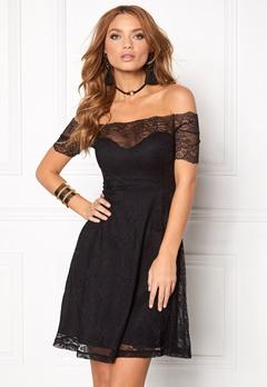 BUBBLEROOM Superior lace dress Black Bubbleroom.no
