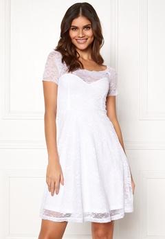 BUBBLEROOM Superior lace dress White Bubbleroom.no