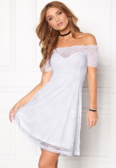 BUBBLEROOM Superior lace dress White Bubbleroom.no