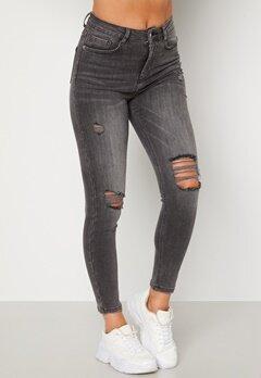 BUBBLEROOM Vegha distressed jeans Grey denim bubbleroom.no